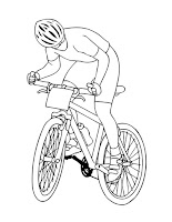 דפי צביעה אופניים