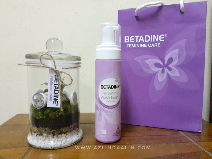 Betadine® Feminine Wash Turns Pink for MAKNA