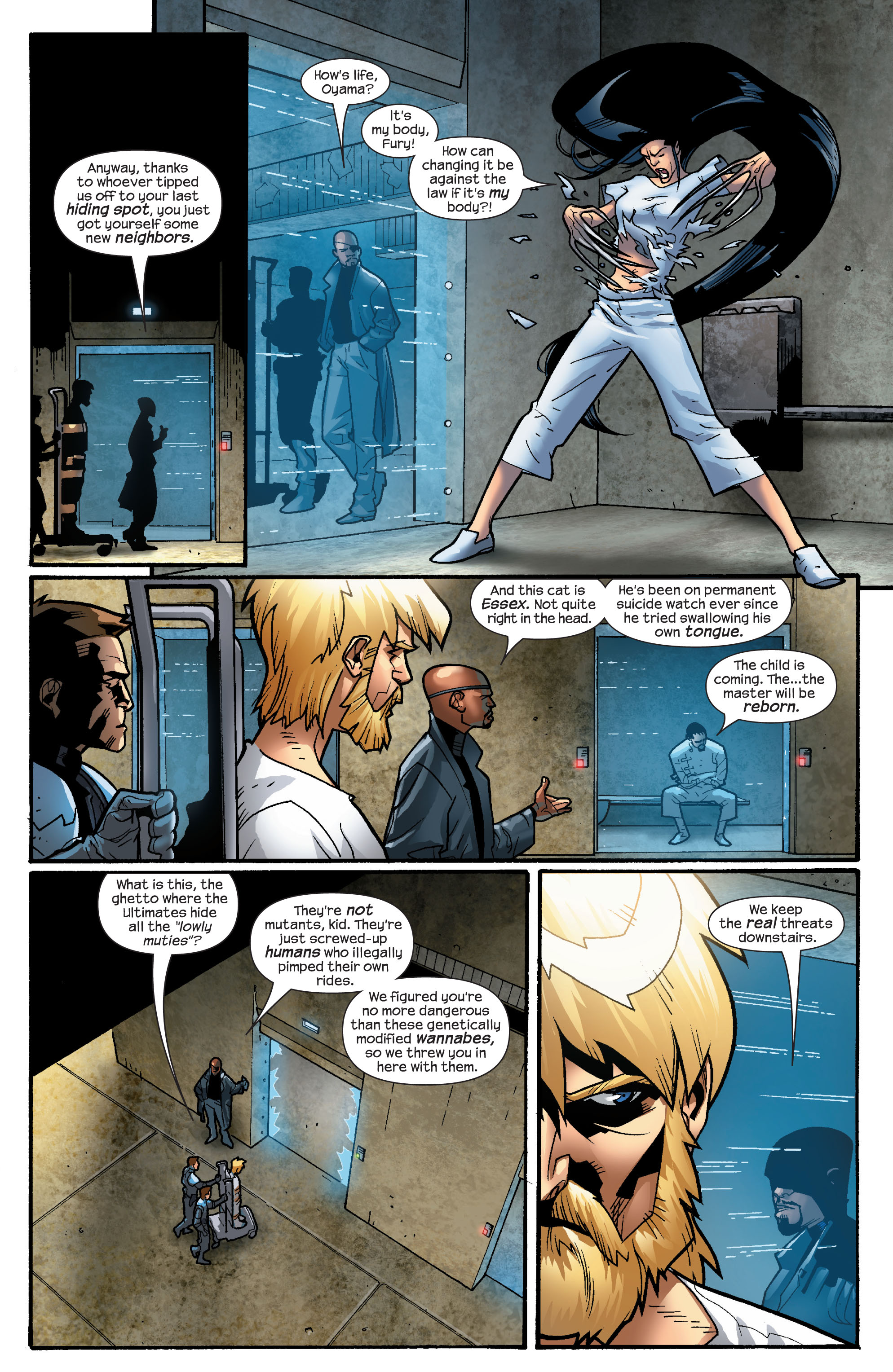 Read online Ultimate X-Men comic -  Issue #63 - 7