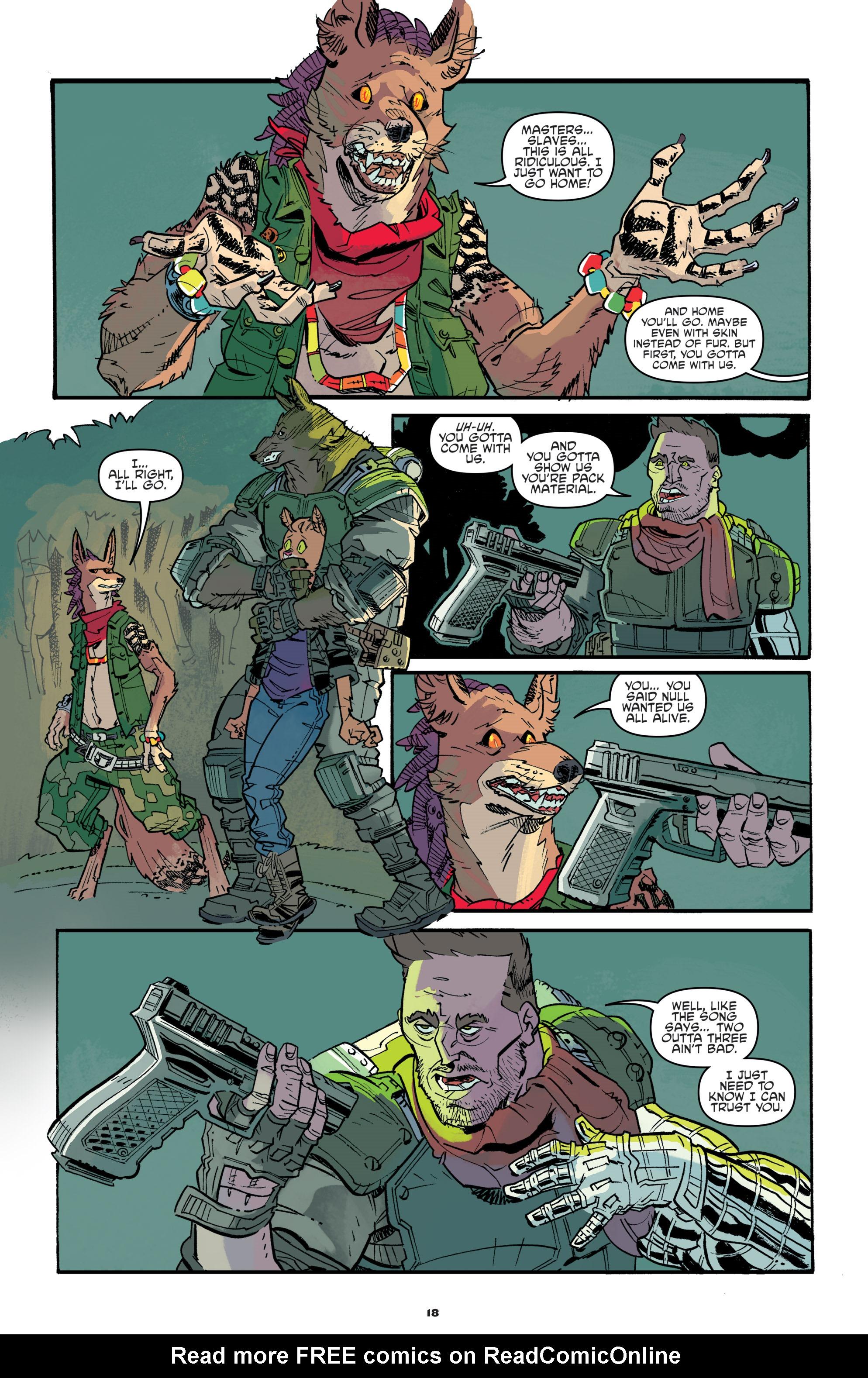 Read online Teenage Mutant Ninja Turtles Universe comic -  Issue #11 - 20
