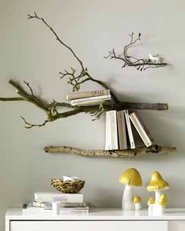Branch Wall Art dishfunctional designs: branching out: art & decor from wood