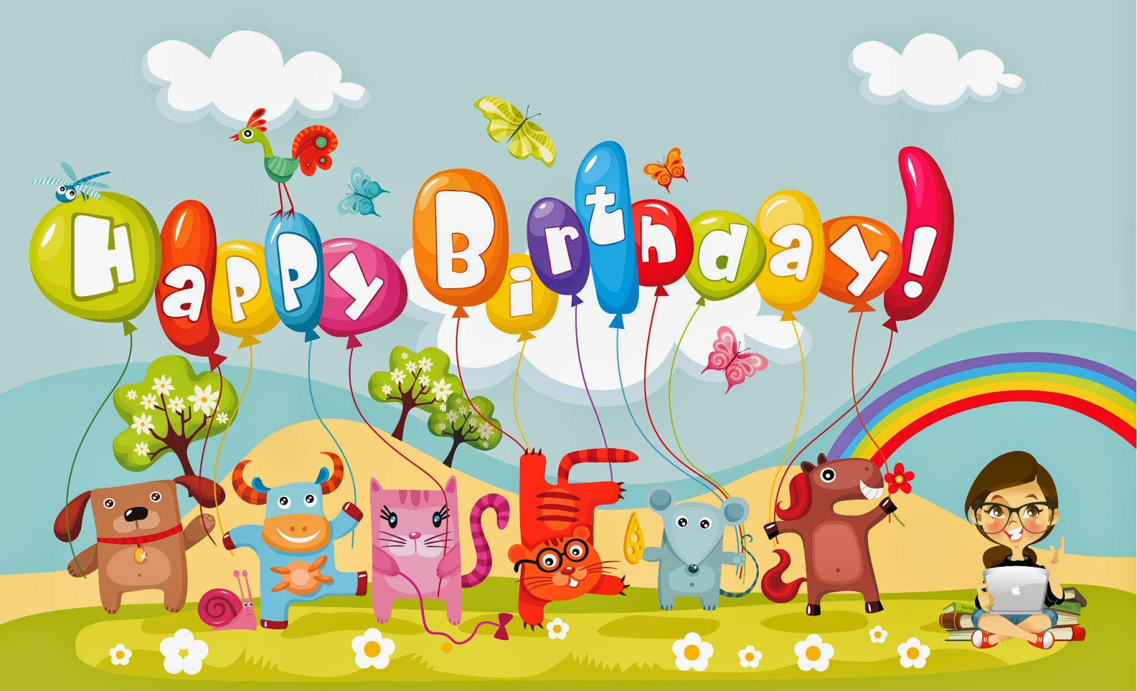 Happy Birthday Wishes Card Images With Cakes Candles Picture For Kids