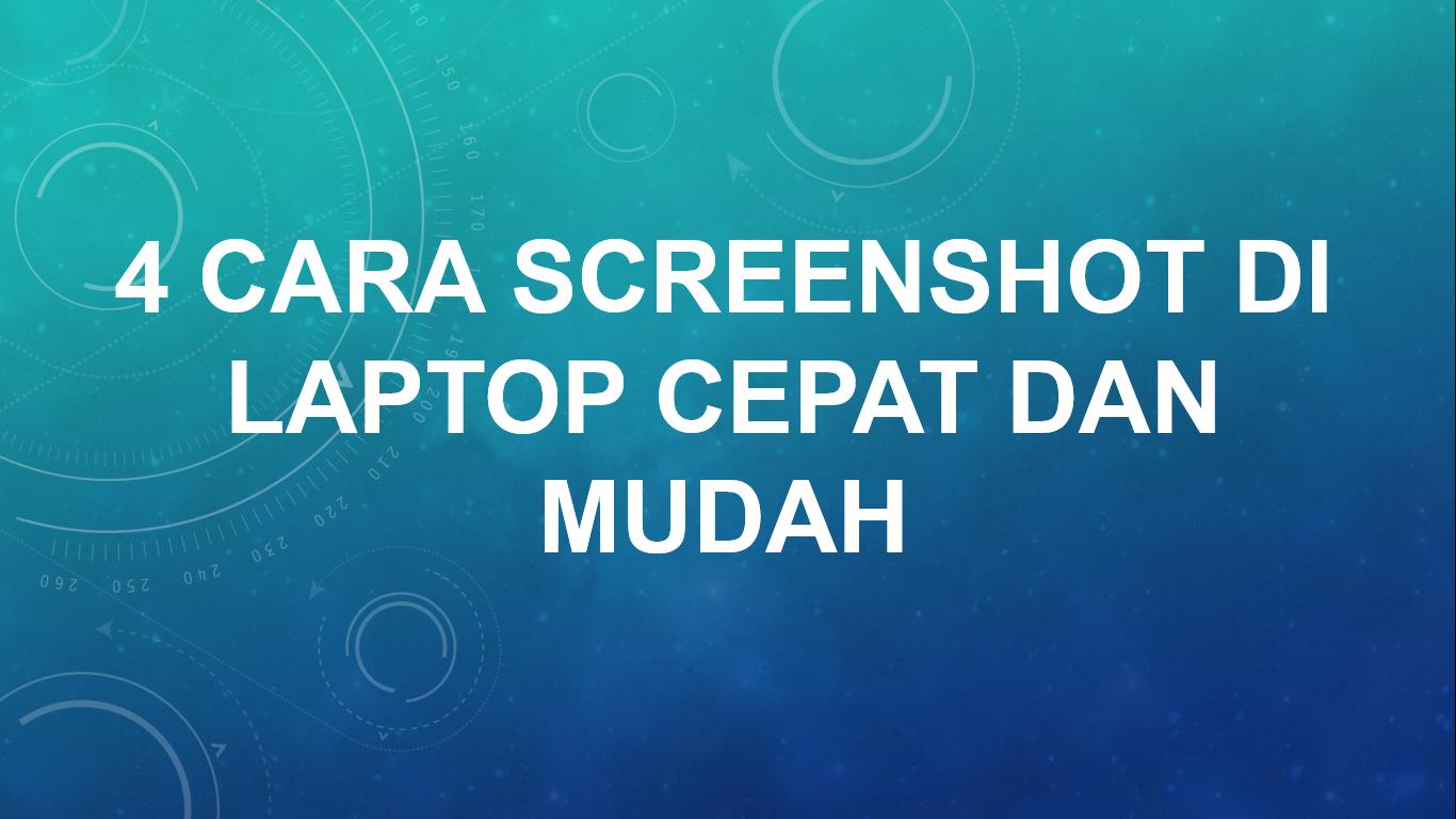 4 Cara Screenshot Di Laptop Lenovo Dengan Cepat Dan Mudah Zone Blog