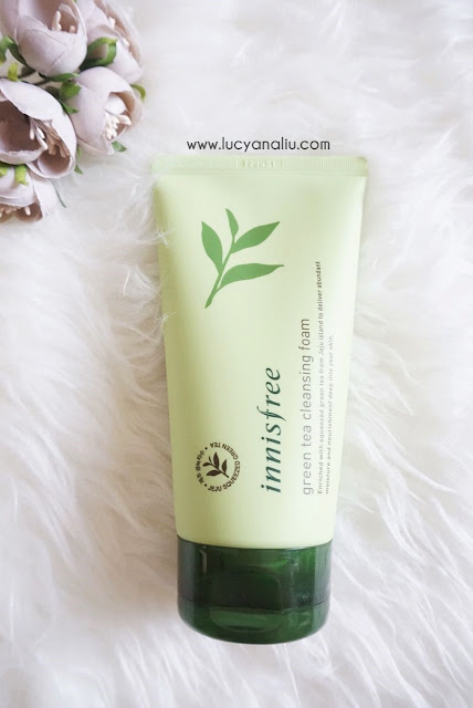 Innisfree Green Tea Cleansing Foam review