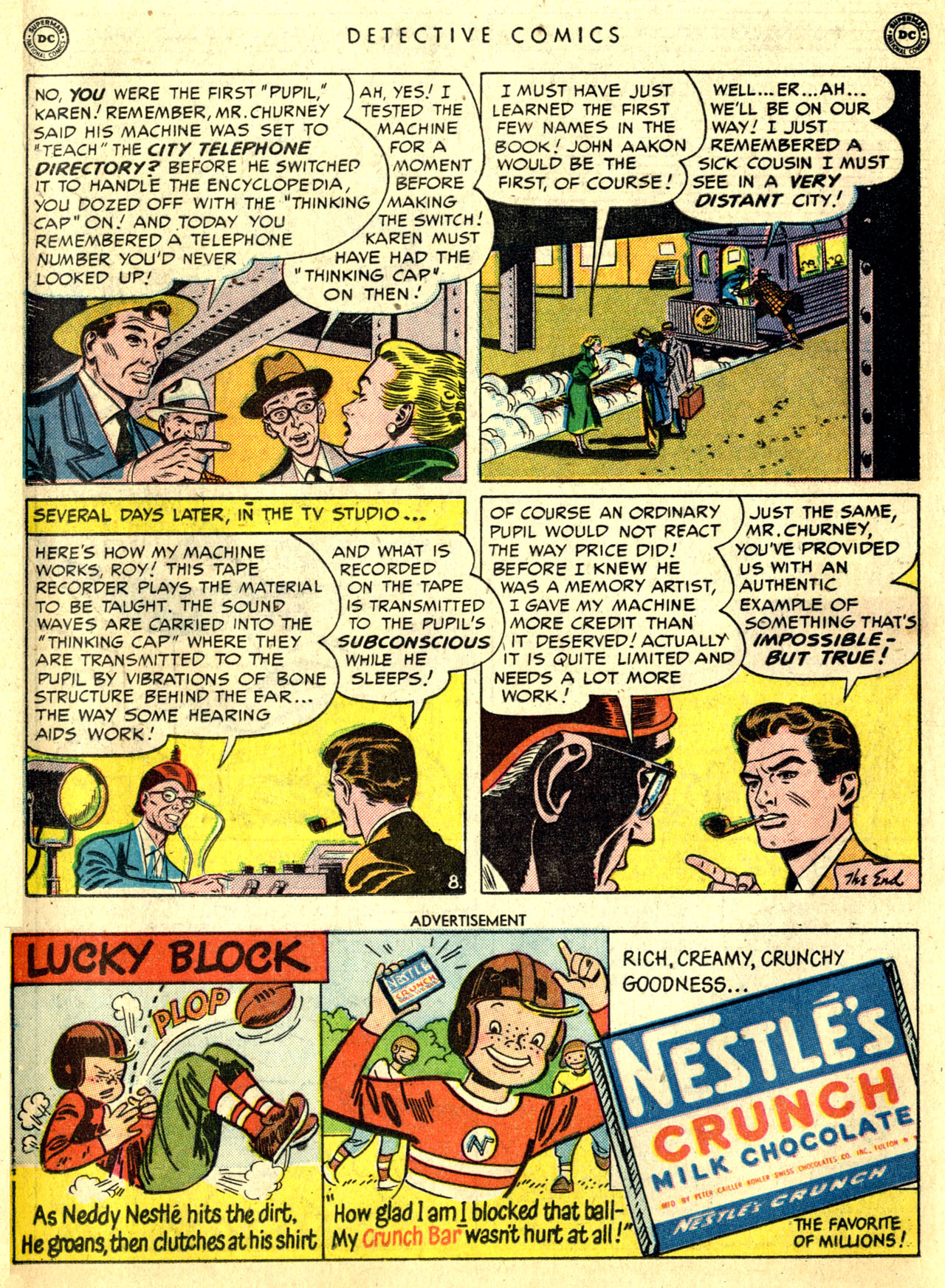 Read online Detective Comics (1937) comic -  Issue #168 - 26