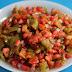 طريقة عمل سلطة الطماطم والفلفل بالطريقة المغربية الاصيلة