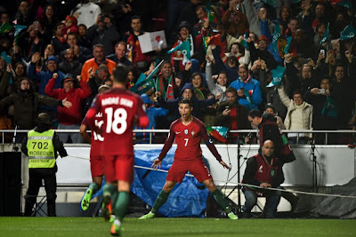 Breaking!!! Cristiano Ronaldo Makes Another Record In 2018 World Cup Qualifier… Ace!!!