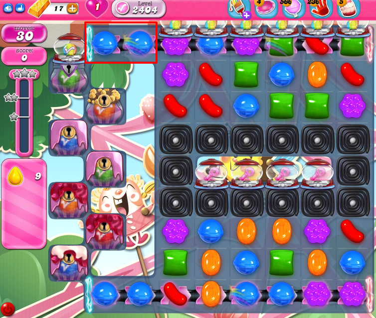 Candy Crush Saga level 2404