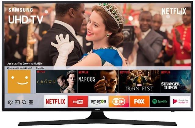 Foto da Smart TV LED 49 Samsung 49MU6100 UHD 4K HDR Premium