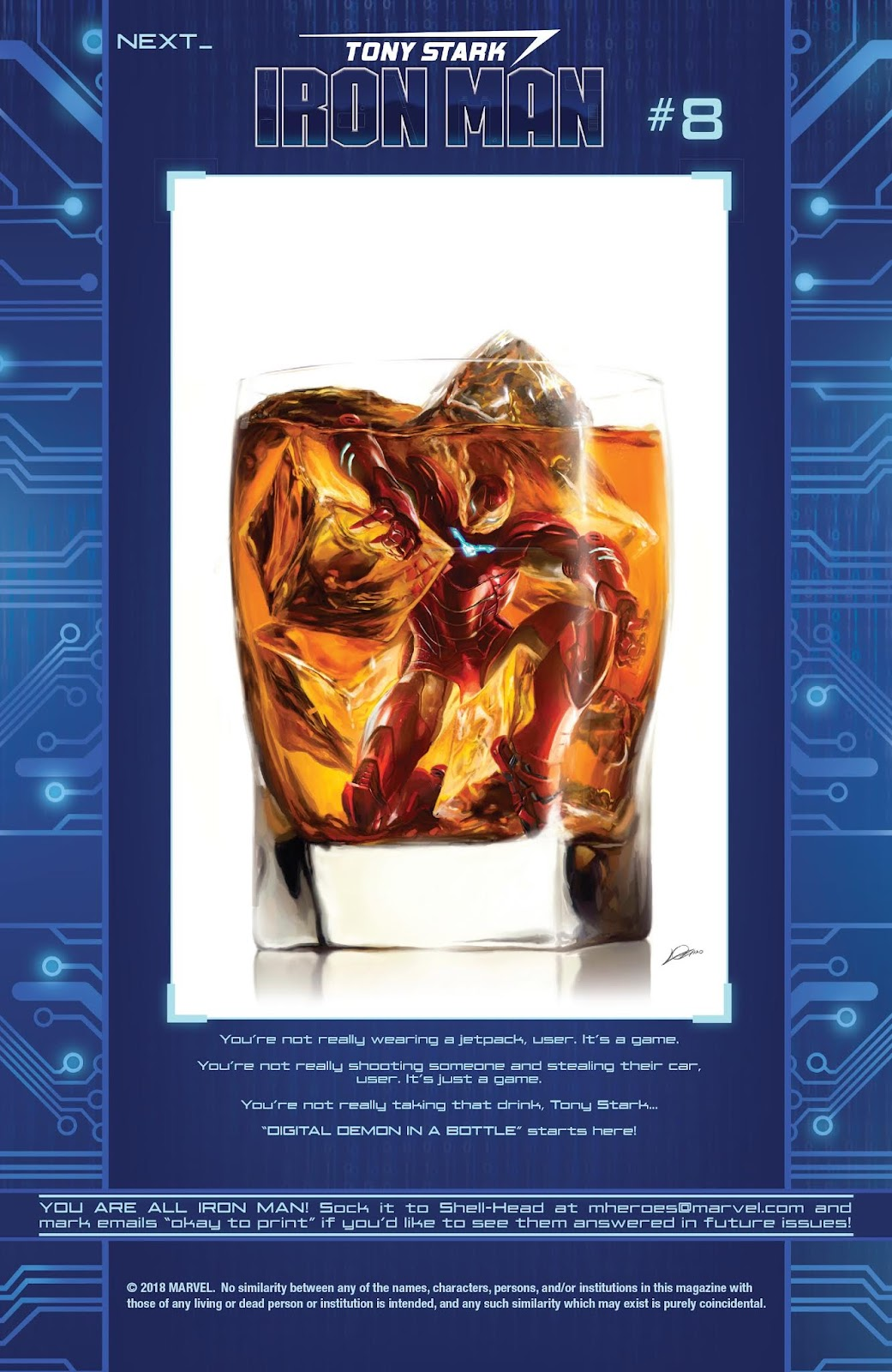 Read online Tony Stark: Iron Man comic -  Issue #7 - 22