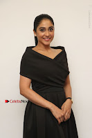 Actress Regina Candra Pos in Beautiful Black Short Dress at Saravanan Irukka Bayamaen Tamil Movie Press Meet  0017.jpg