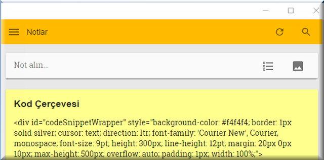 Google Keep aracı ile not ve listelerinizi, Google Drive, Dokumanlara veya Word dosyasına dönüştürerek kullanabilirsiniz.