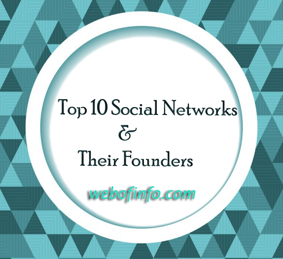 Top 10 Social Networks and Their Founders 2018
