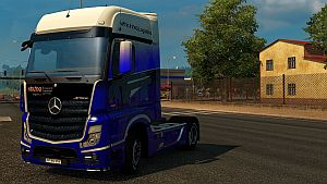 Viking Logistics skin for Mercedes MP IV
