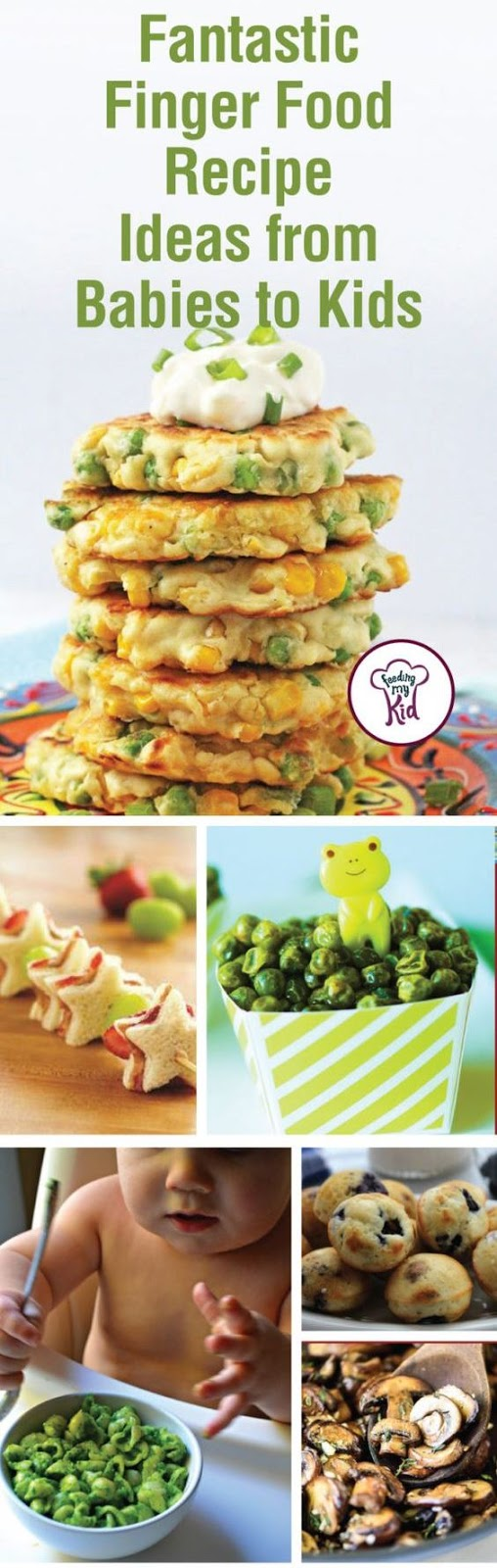 Fantastic Finger Food Recipe Ideas from Babies to Kids