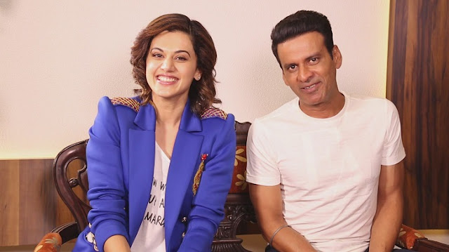 Taapsee Pannu and Manoj Bajpayee