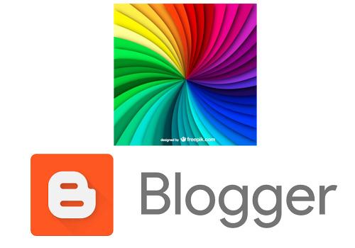 كيفية تغيير لون فى قالب بلوجر