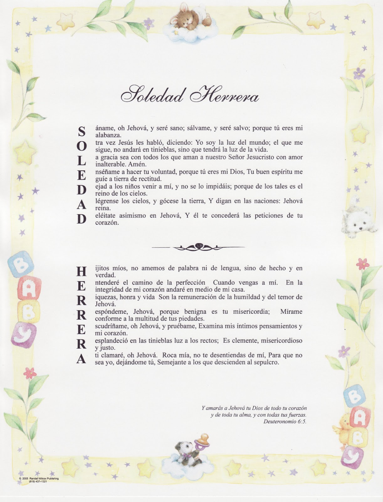 Your Name in Bible Verse Certificates ~ #Review - 1 Heart, 1