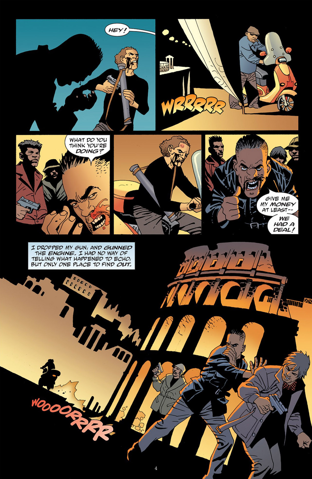 Read online 100 Bullets comic -  Issue #83 - 5