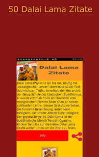 Seine Heiligkeit der 14. Dalai Lama von Tibet - Android App