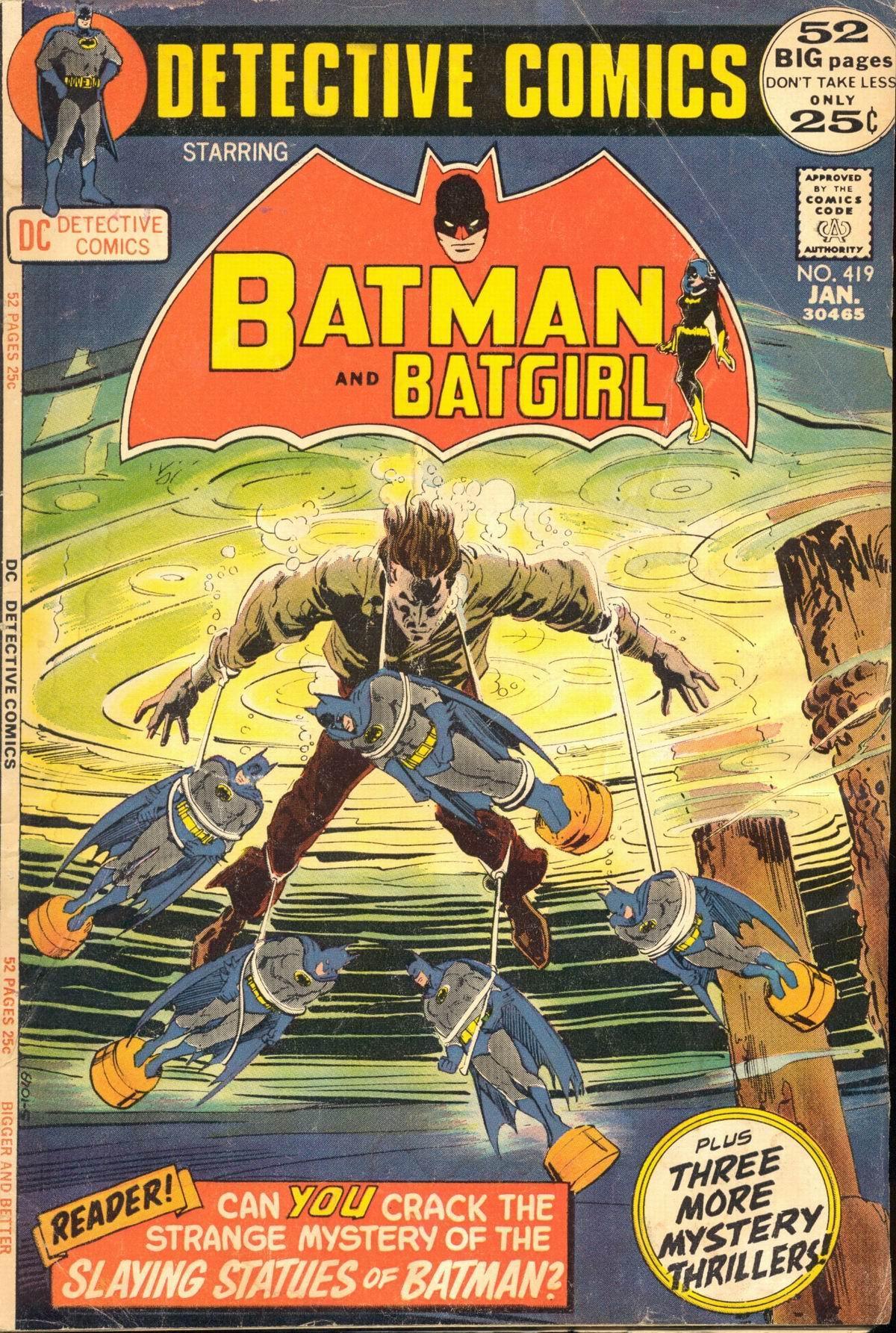 Detective Comics (1937) 419 Page 1