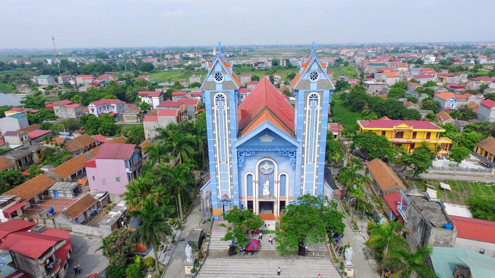 Kết quả hình ảnh cho nha thờ tại lương tài  Bắc Ninh