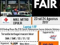 Career Fair Jakarta Digelar di Metro Mall Cipulir, 23-24 Agustus 2017
