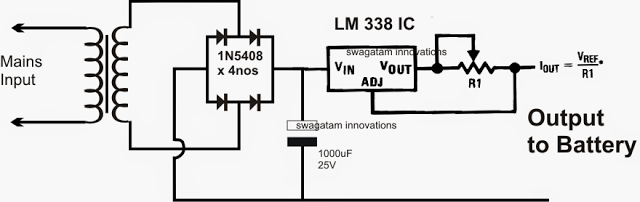 LM 338 constant current