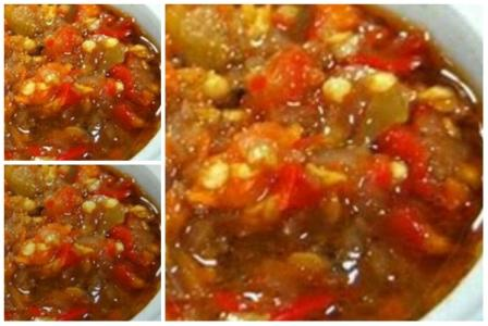 resep sambal bawang super pedas   county food