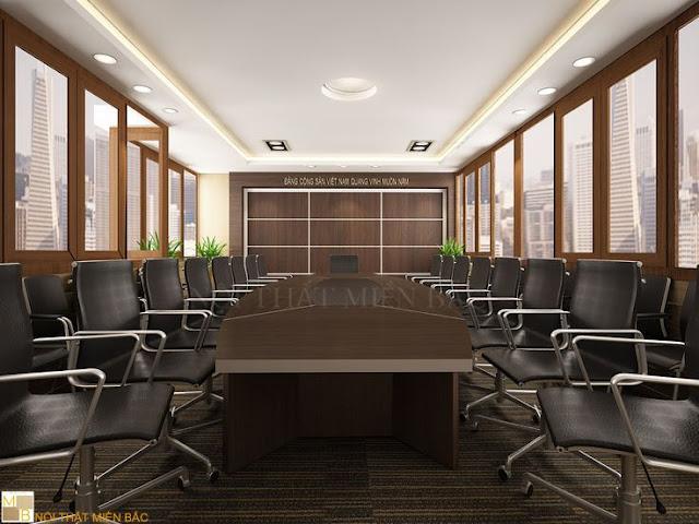 Xu hướng thiết kế nội thất phòng họp hiện đại