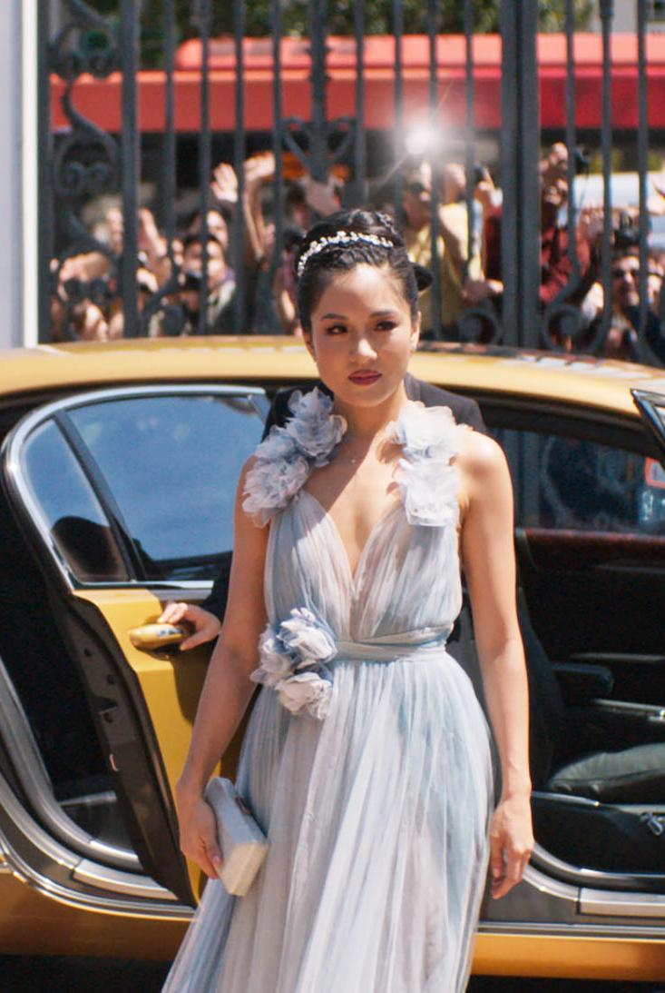 Constance Wu plays Rachel Chu in Crazy Rich Asians