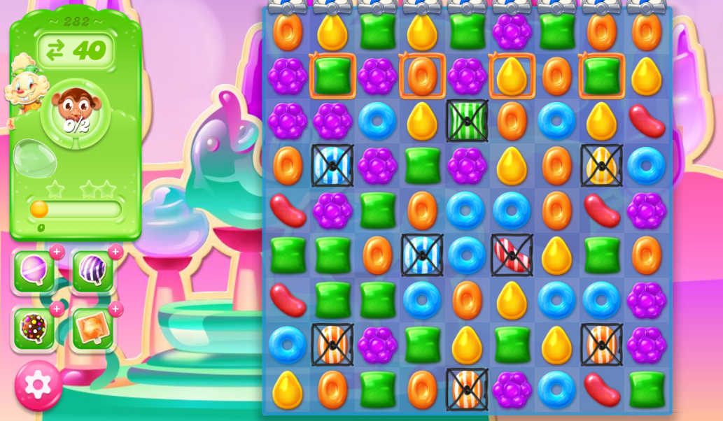 Candy Crush Jelly Saga 282