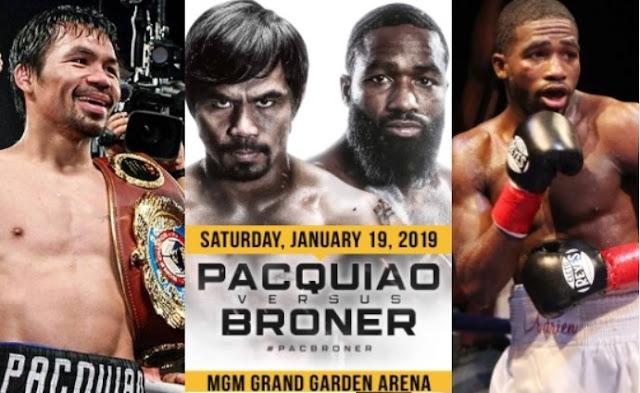 Watch Pacquiao vs Broner Live