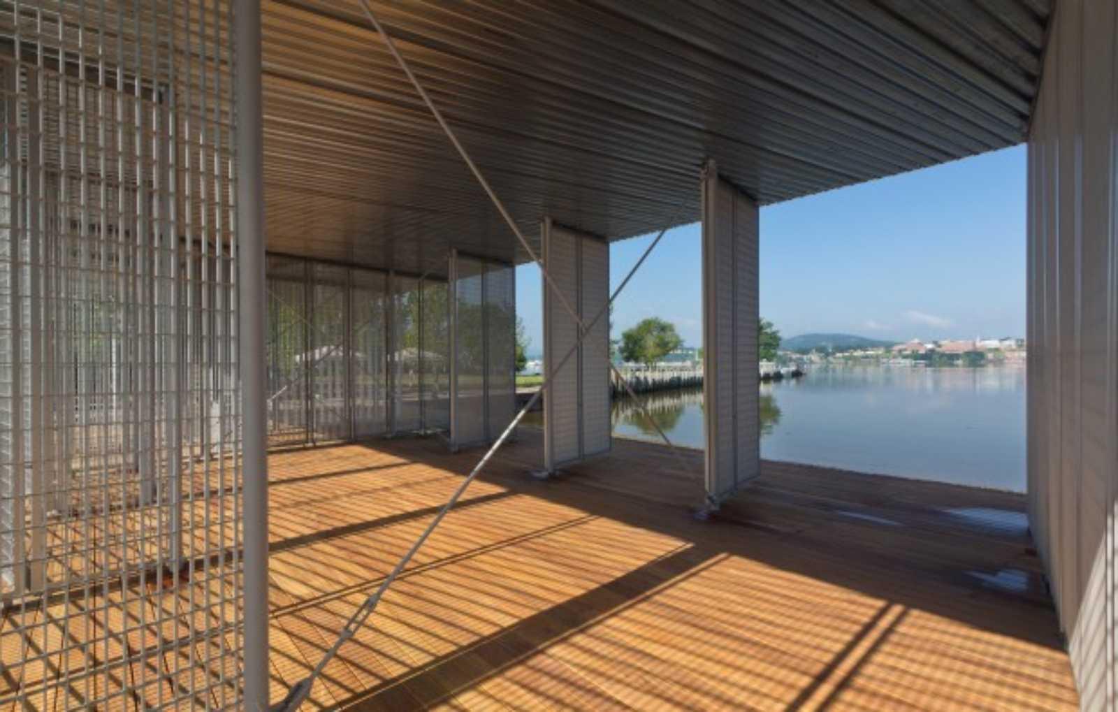 Boat Pavilion For Long Dock Park