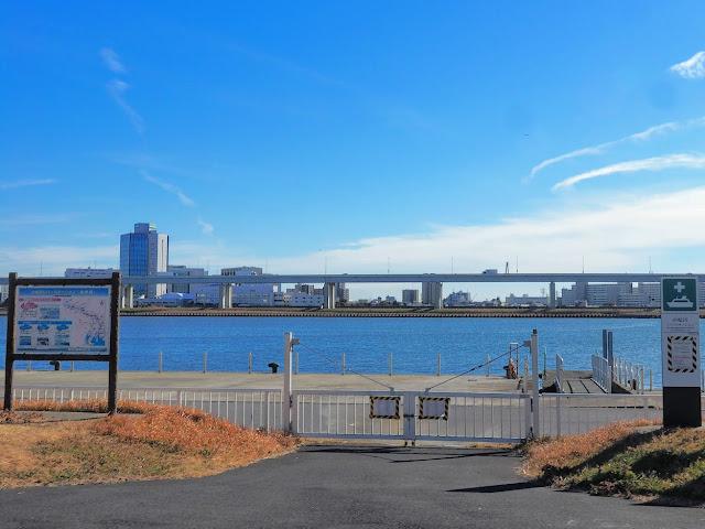 荒川自転車道 小松川リバーステーション