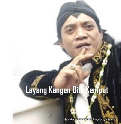 Layang Kangen Didi Kempot