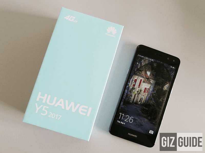 Huawei Y5 2017 Unboxing And First Impressions