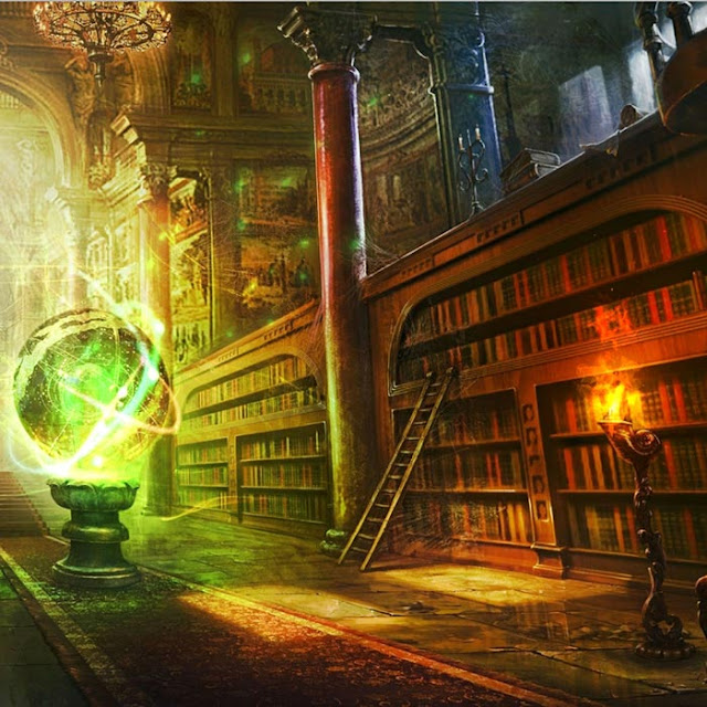 Magic Library Wallpaper Engine