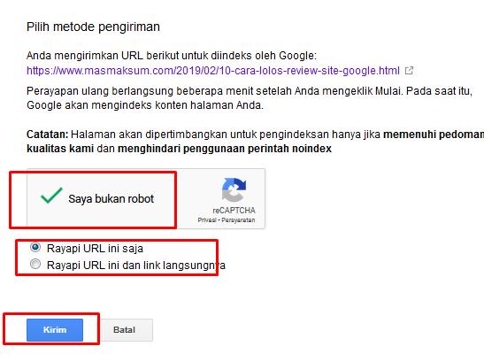 Cara Mudah Submit Artikel di Fetch As Google Agar Artikel Cepat Terindex