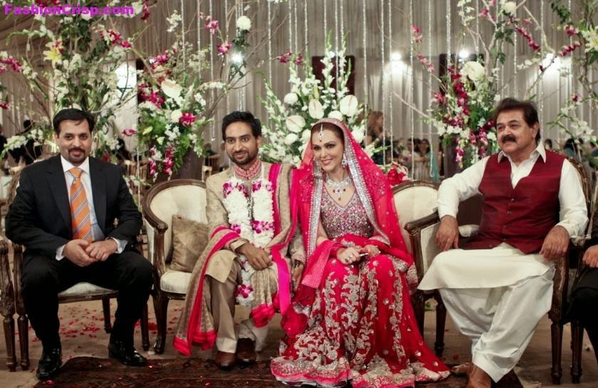 Humayun Saeed Wedding Pictures With Ayesha Khan | www ...