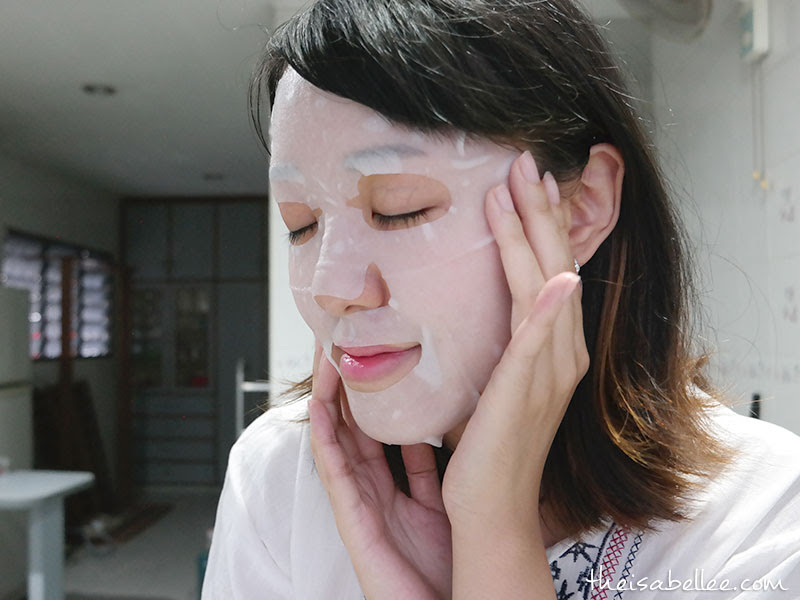 SEP Facial Mask air pocket sheet