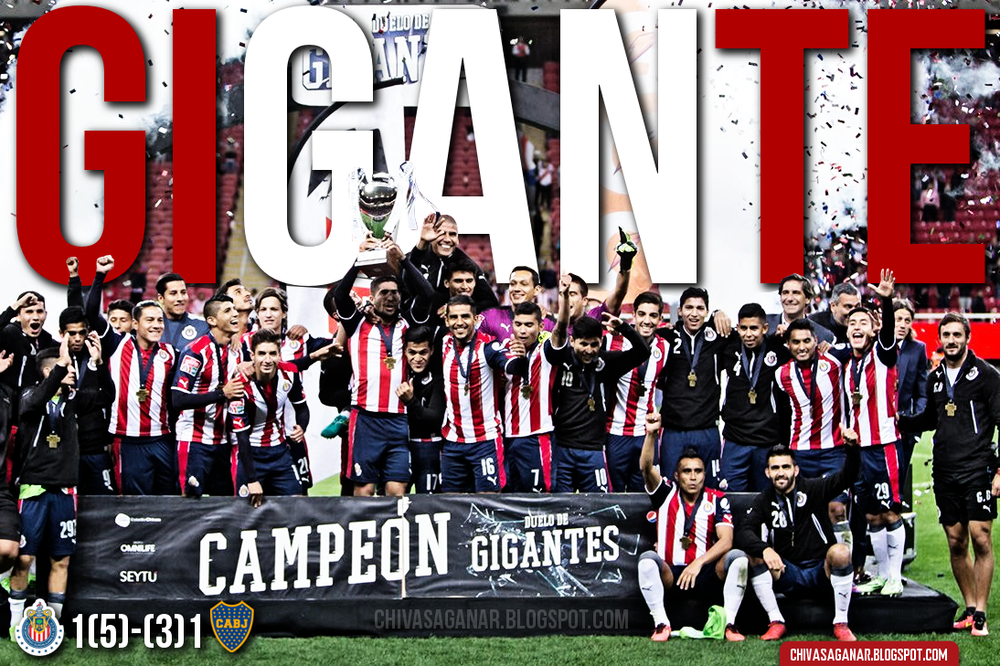 Copa Duelo De Gigantes : CD Guadalajara 1(5)-(3)1 CA Boca Juniors - 2017.