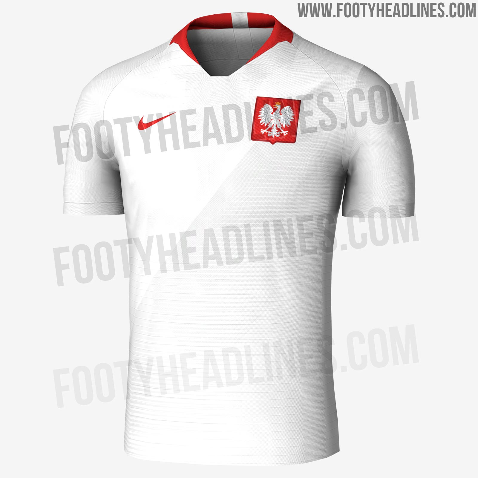 9da867625 EXCLUSIVE  Poland 2018 World Cup Home and Away Kits Leaked