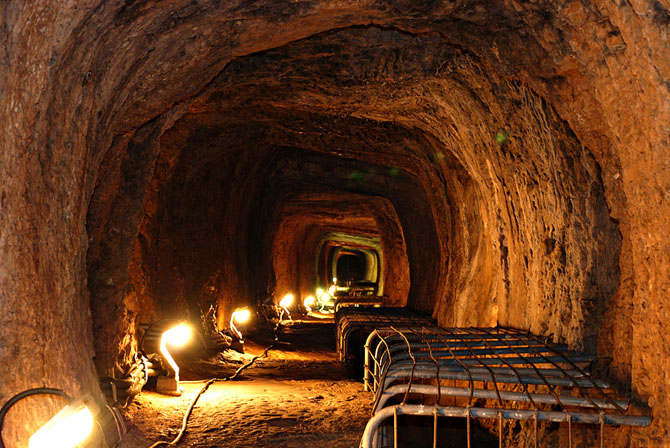 the tunnel of samos