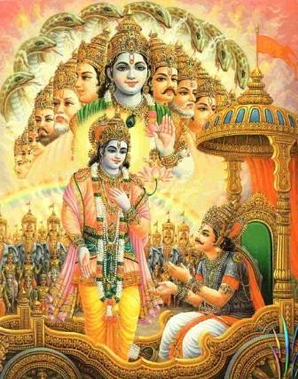 Krishna-Arjuna Dialogue Geetika