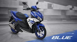 Yamaha Aerox 125LC Blue