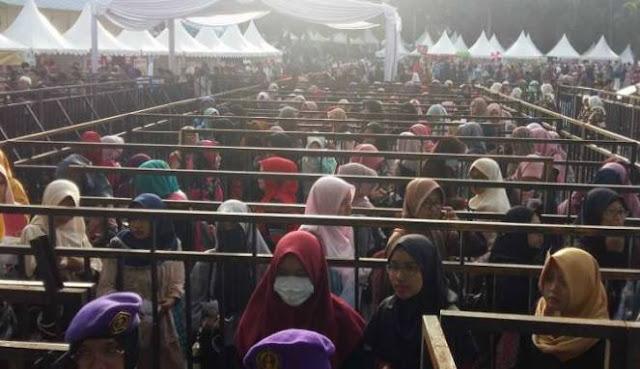 MasyaAllah, Penonton Safari Dakwah Zakir Naik Membludak di UPI Bandung
