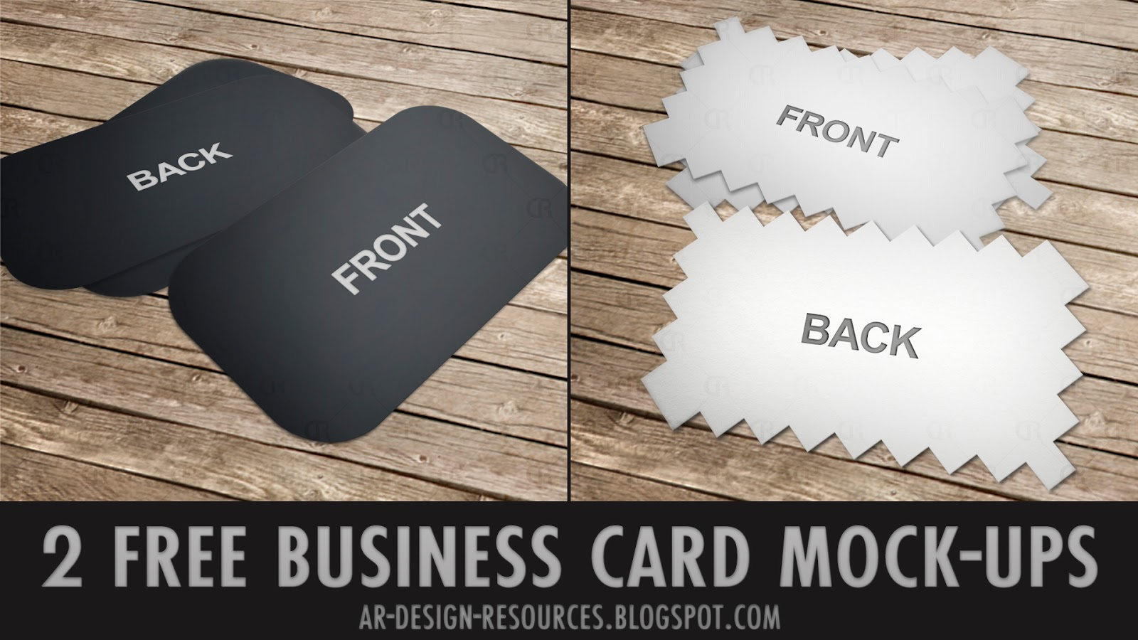 Free photoshop tutorials free business card mockup reheart Images