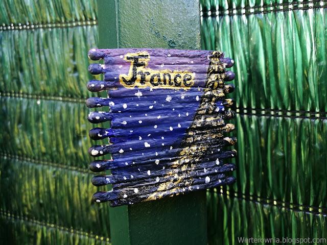 Magnes na lodówkę Francja