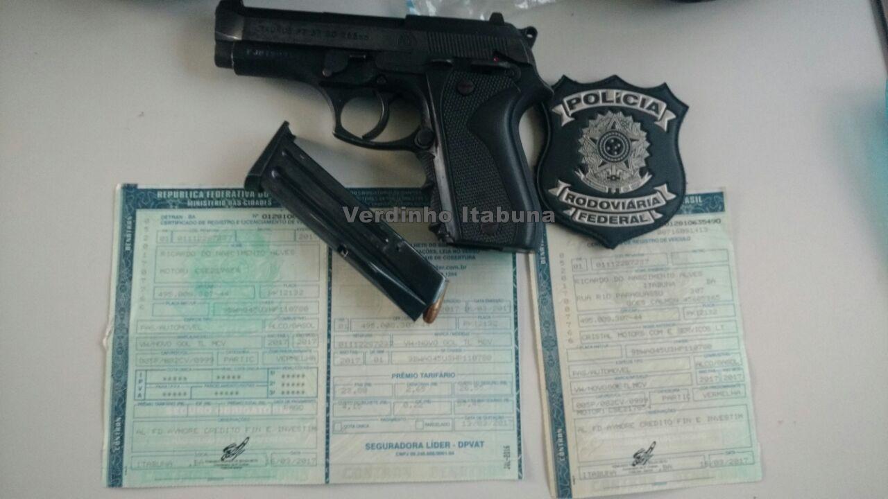 Ciganos s o presos com arma e documento falso photo for Uso e porte de arma